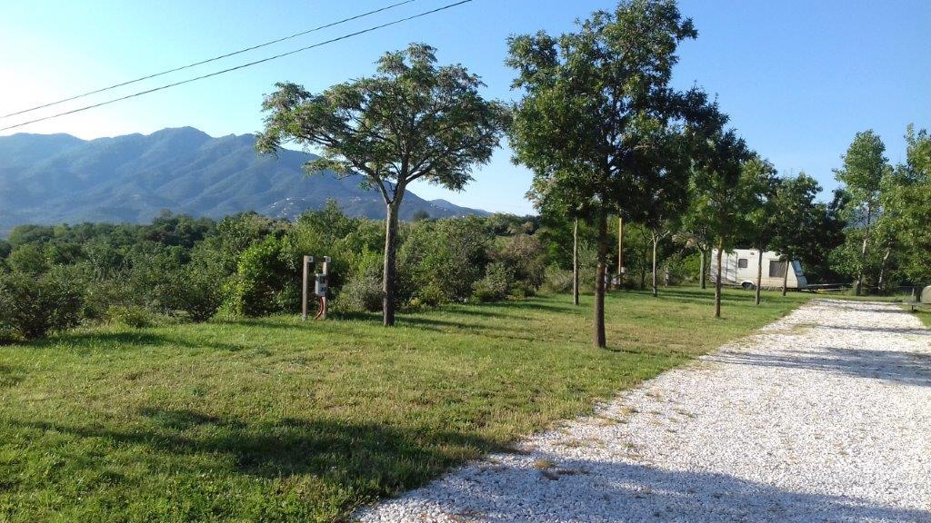 emplacement du camping calme