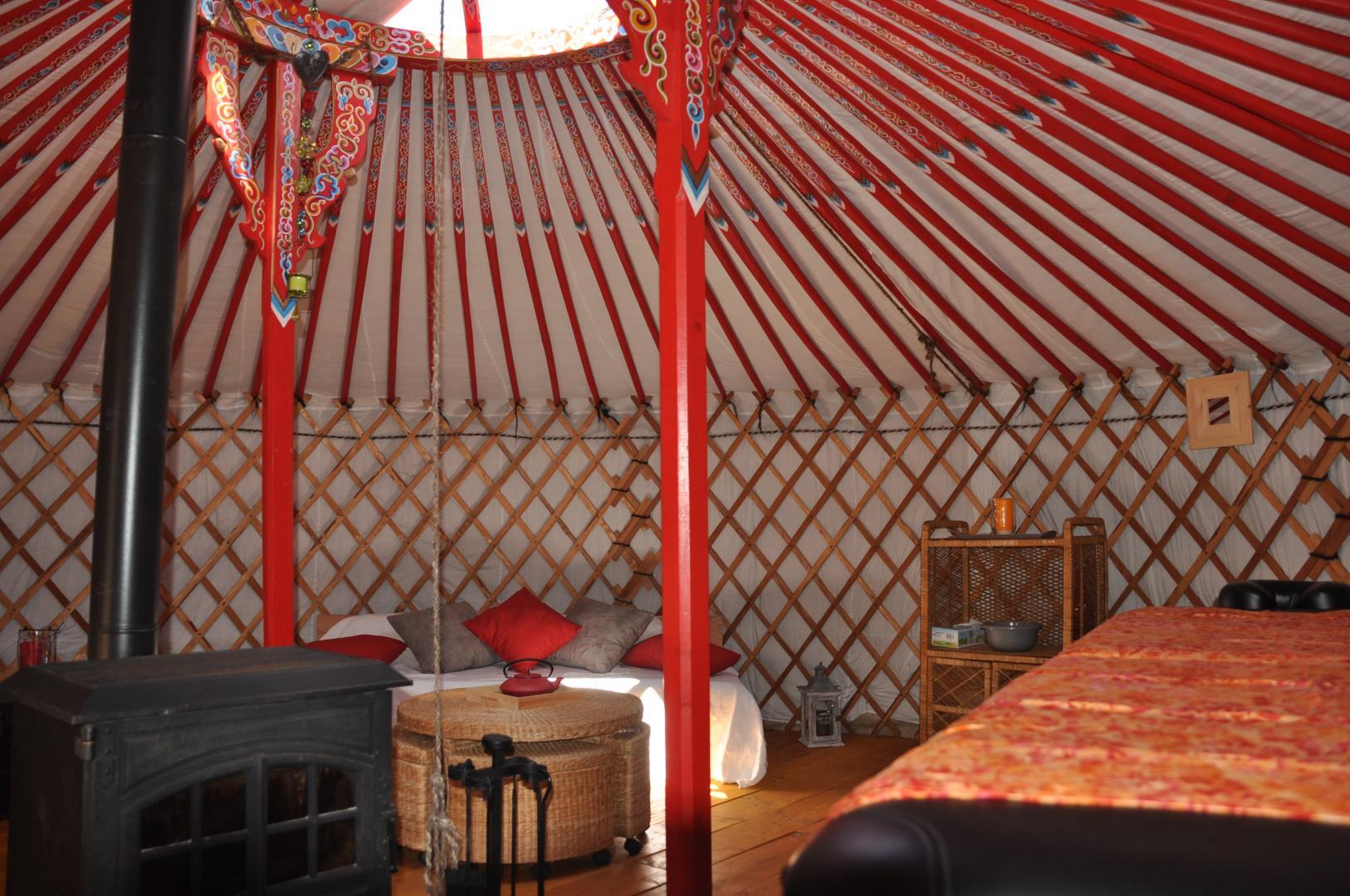 massage au camping