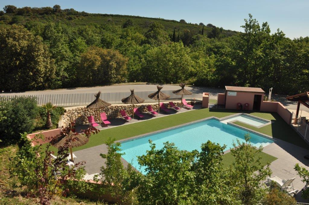 camping au Boulou avec piscine