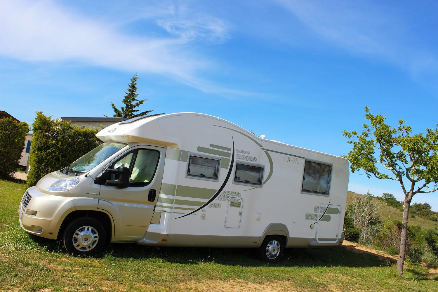 Camping pour camping-car
