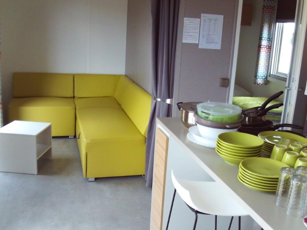 location mobil home familial au Boulou