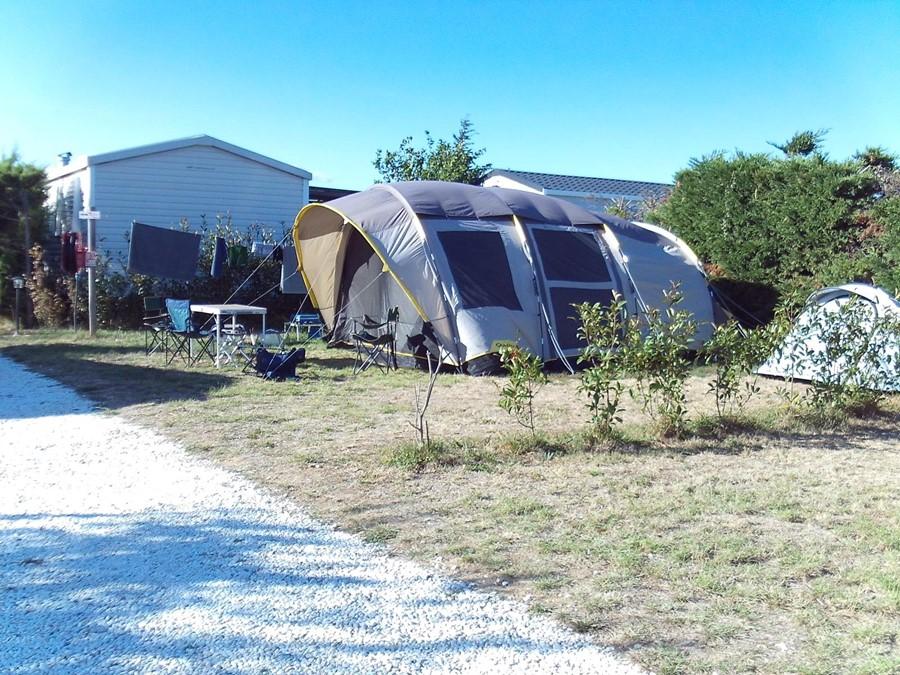 Emplacement pour tente