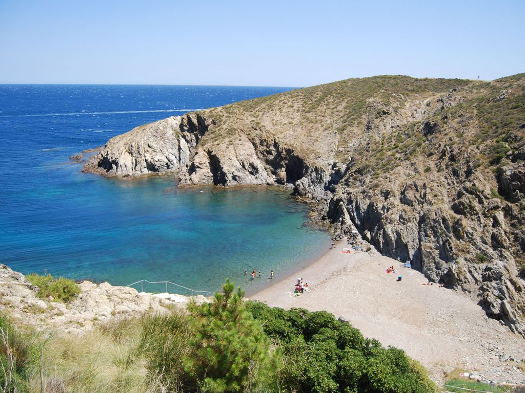 Camping crique troc pinell
