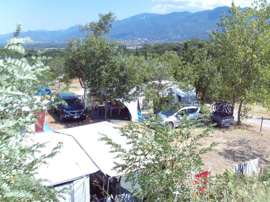 camping calme au Boulou
