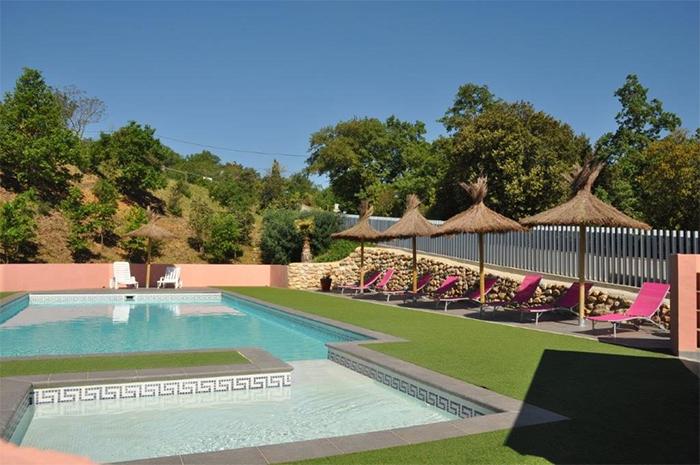 piscine camping calme proche de Perpignan