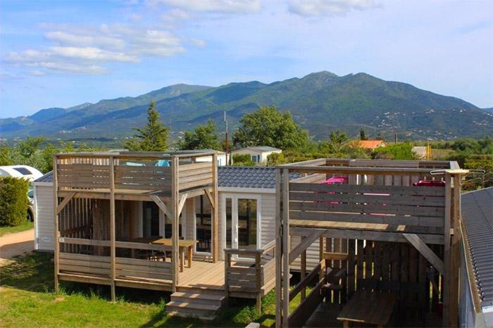Camping nature dans les Pyrénées Orientales